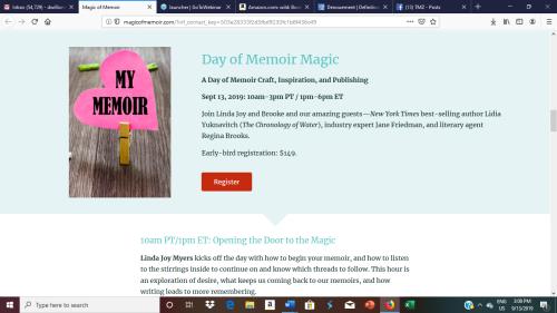 Day of Memoir Magic craft workshop